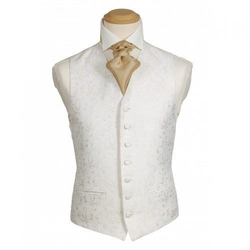 Bradwell Ivory Waistcoat