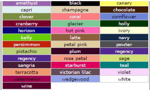D'Zage Colours