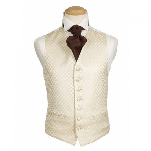 Fiori Gold Waistcoat
