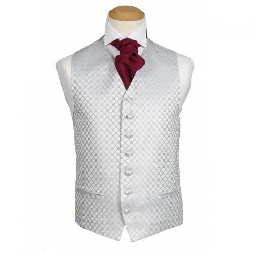 Fiori Silver Waistcoat