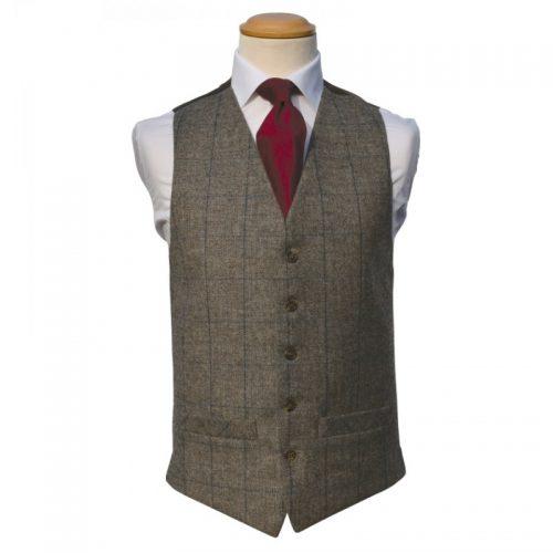 Tweed Brown Royal Waistcoat