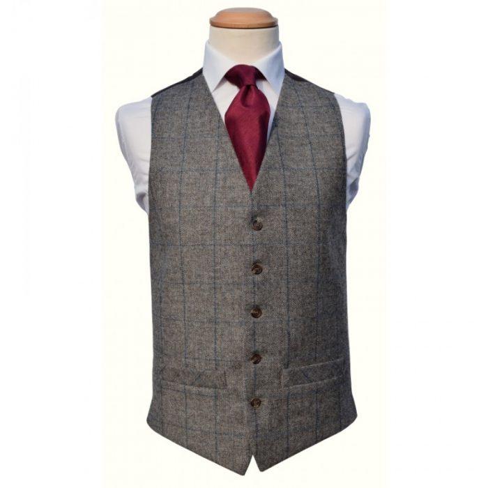 Tweed Grey Royal Waistcoat