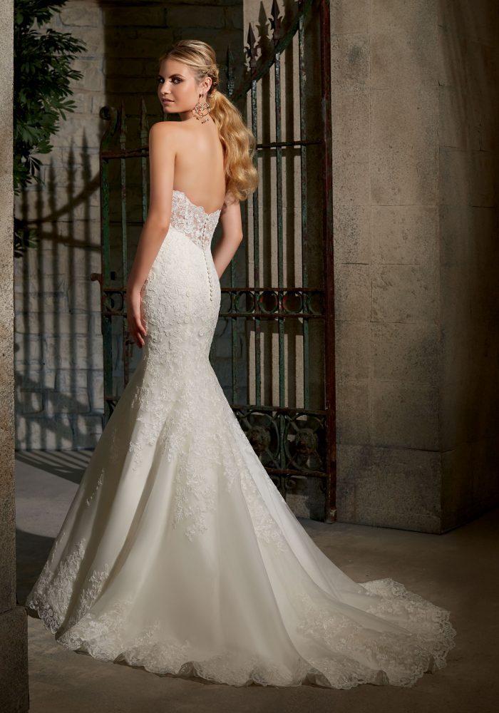 Mori lee wedding dress 2713