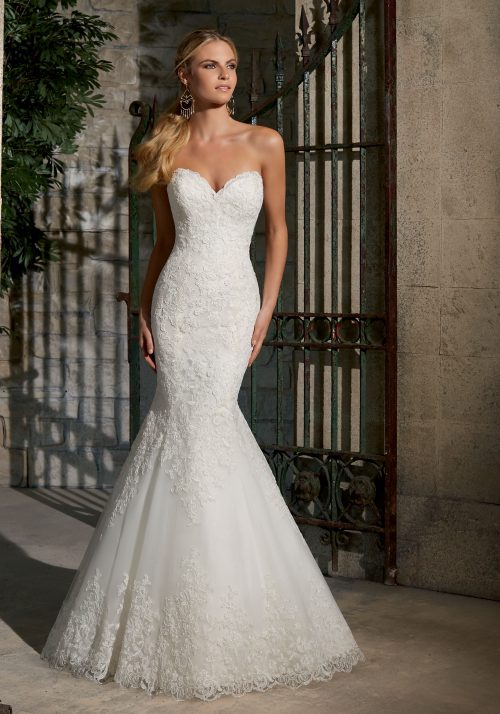 Mori lee wedding dress 2713