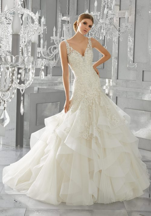 Mori lee 8195 Mattea wedding dress