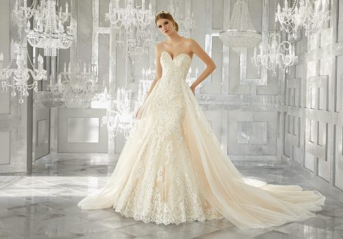 Mori lee 8193 Melrose wedding dress