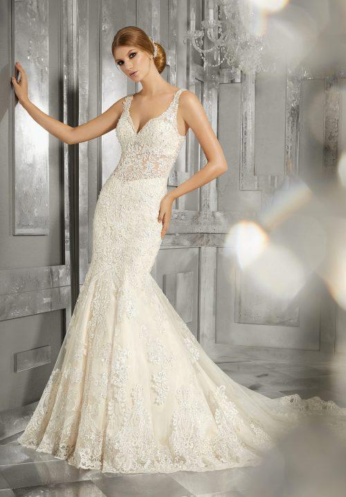 Mori lee 8192 Maggie wedding dress