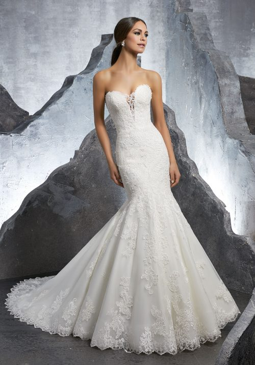 Mori lee 5607 Kaitlyn wedding dress