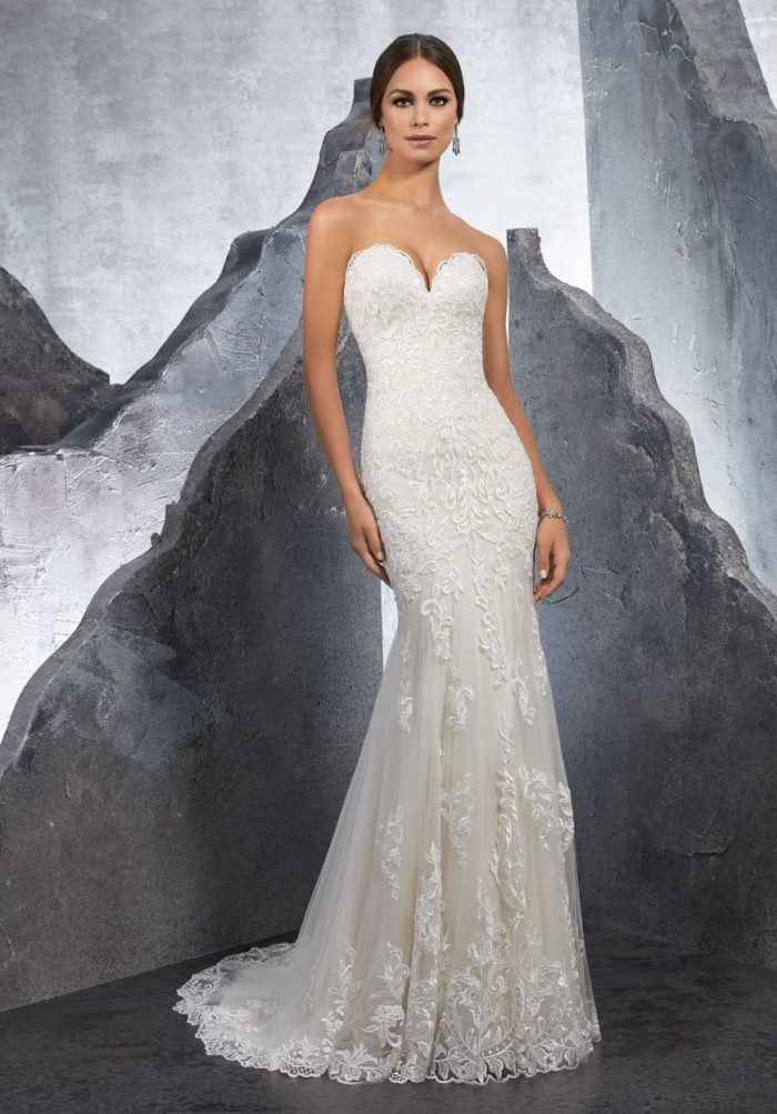 Mori lee 5615 Kirstie wedding dress