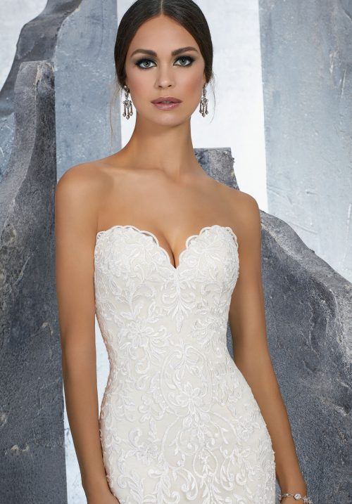 Mori lee 5615 Kirstie wedding dress