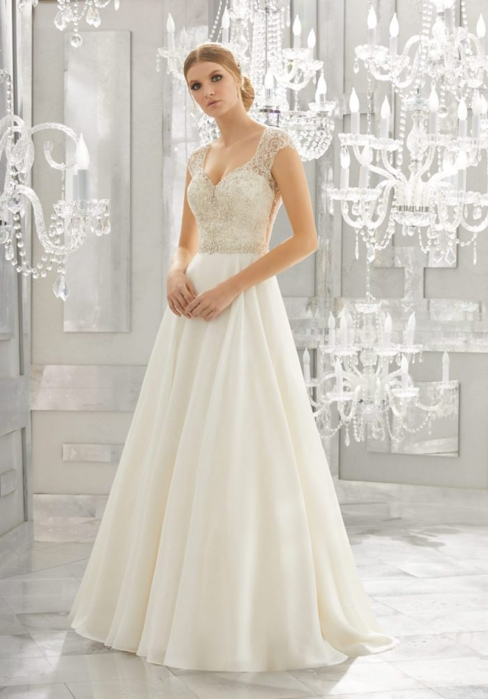 Mori lee 8182 Mollie wedding dress