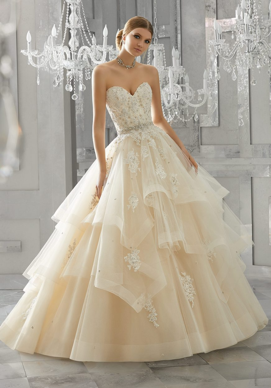 Beautiful Wedding Dresses.Mori Lee 8184 Moira Wedding Dress
