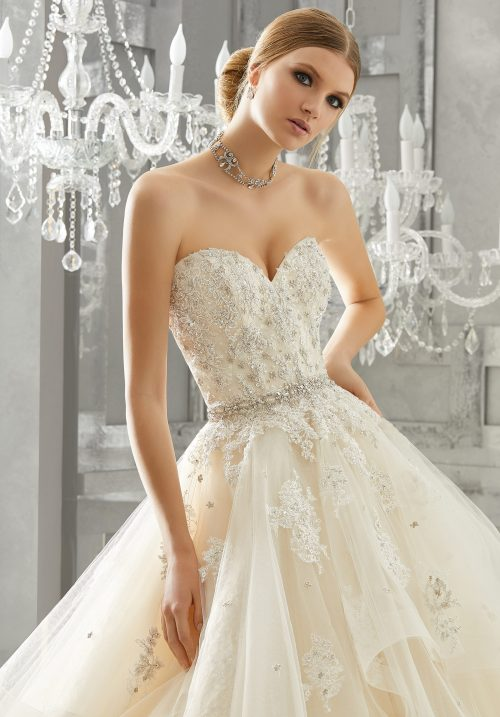 Mori lee 8184 Moira wedding dress