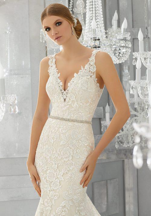Mori lee 8186 Madora wedding dress