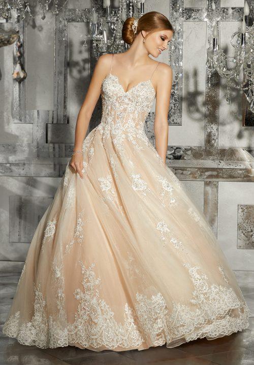 Mori lee 8187 Mariska wedding dress