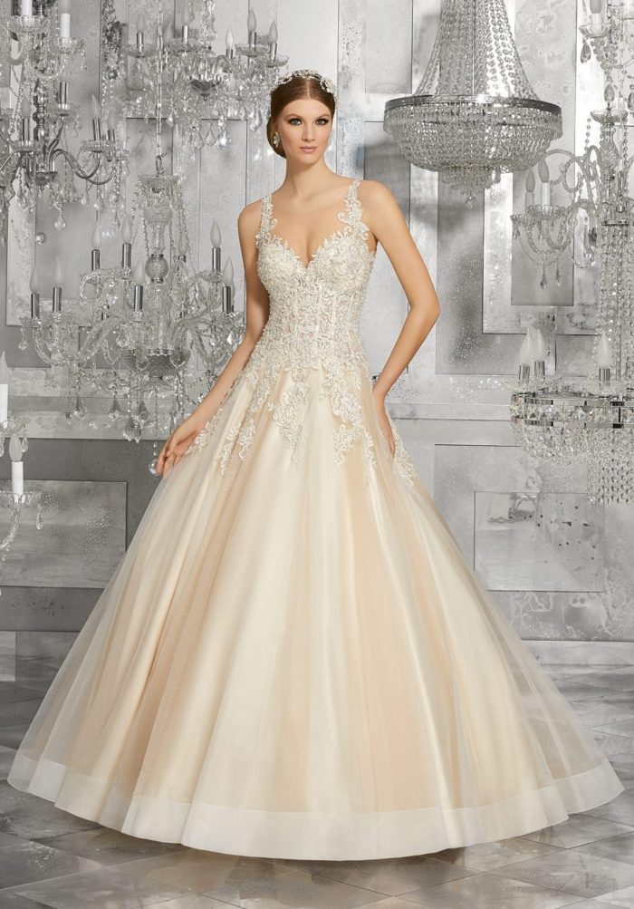 Mori lee 8190 Mahala wedding dress