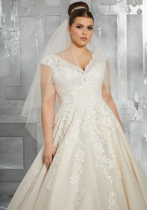 Mori lee 3228 Moiselle Wedding Dress