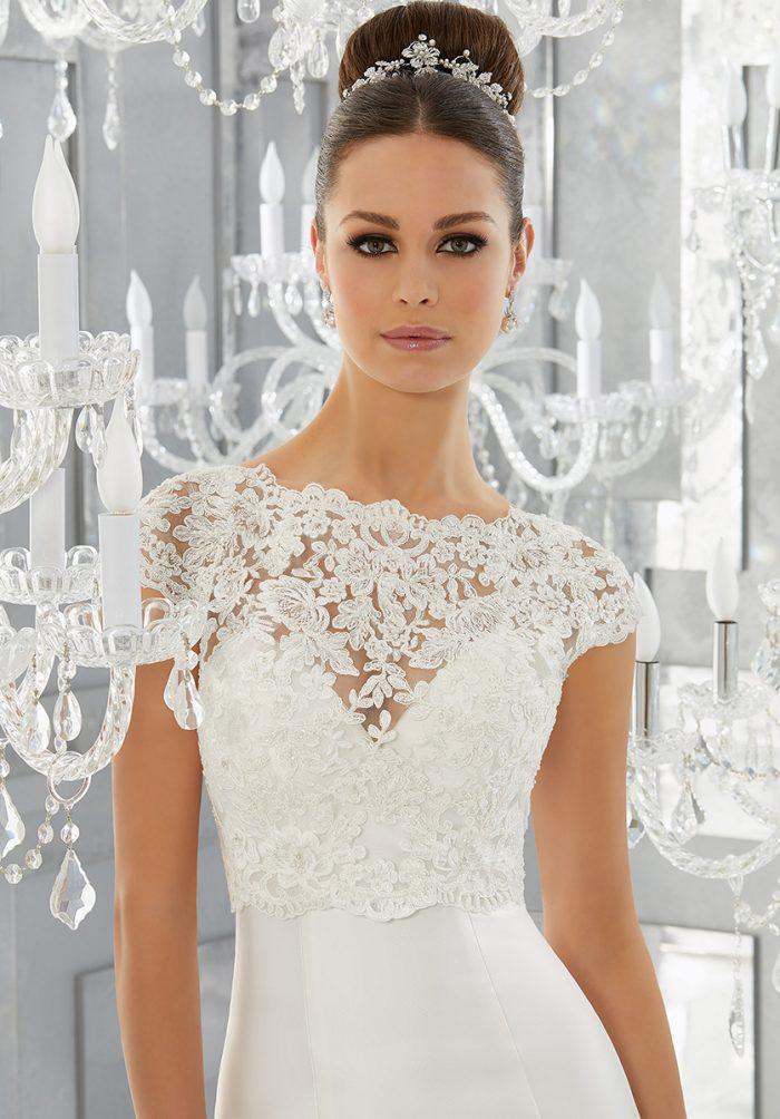 Mori lee 5563 Merci Wedding Dress