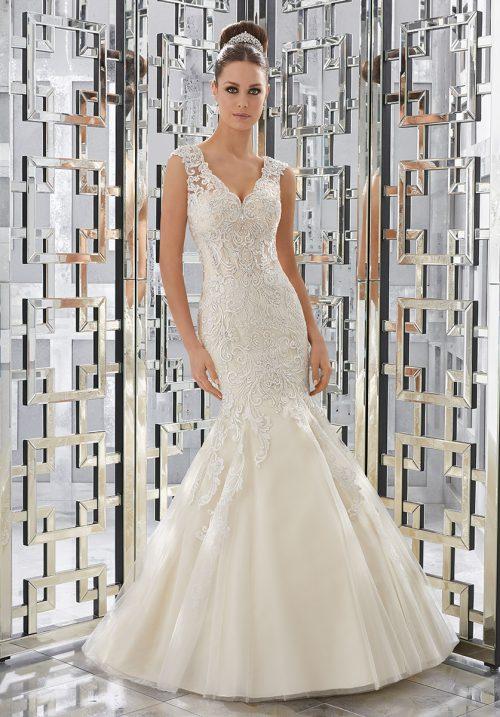 Mori lee 5568 Monika wedding dress