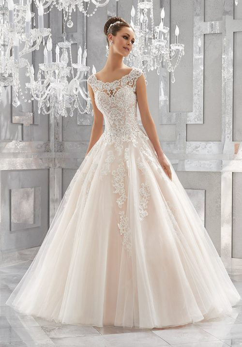 Mori lee 5573 Massima wedding dress