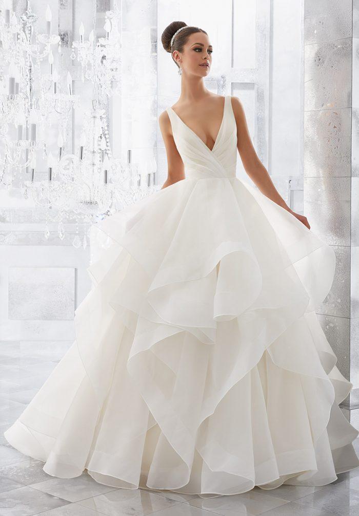 Mori lee 5577 Milly wedding dress