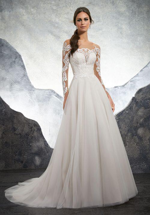 Mori lee 5602 Kelsey Wedding Dress