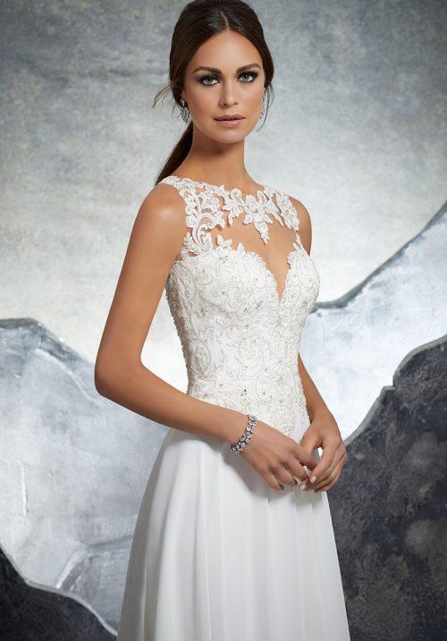Mori lee 5606 Keisha Wedding Dress