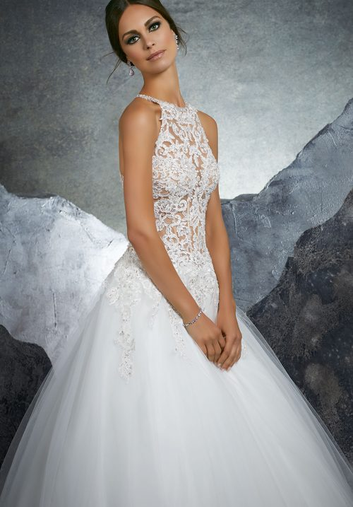 Mori lee 5608 Kathleen Wedding Dress