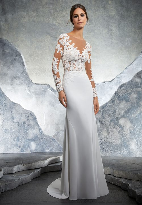Mori lee 5609 Kaira Wedding Dress