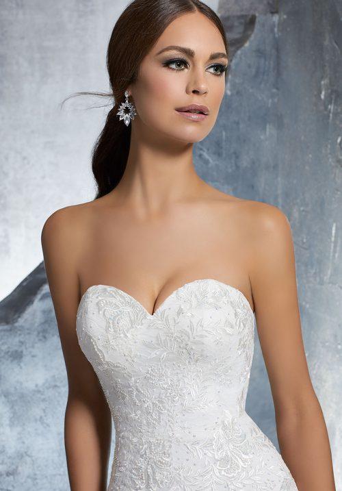 Mori lee 5610 Kara Wedding Dress