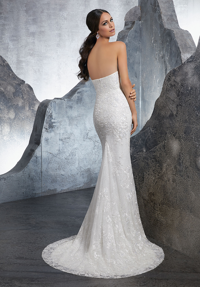 Mori lee 5610 Kara Wedding Dress - Catrinas Bridal