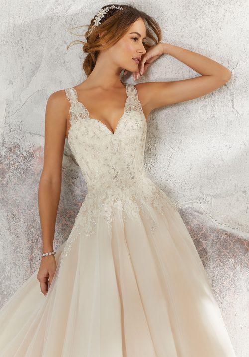 Mori lee 5697 Lily Wedding Dress