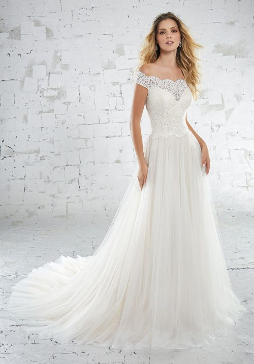 Mori lee 6881 Kolette Wedding Dress