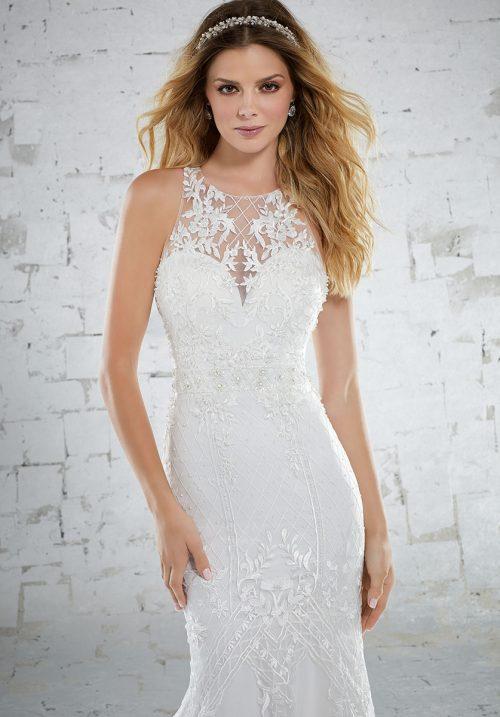 Mori lee 6884 Kristen Wedding Dress