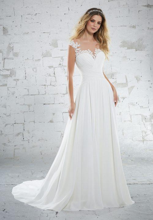 Mori lee 6885 Kamella Wedding Dress