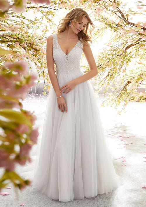 Mori lee 6891 Lola Wedding Dress