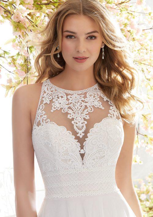Mori lee 6894 Luna Wedding Dress