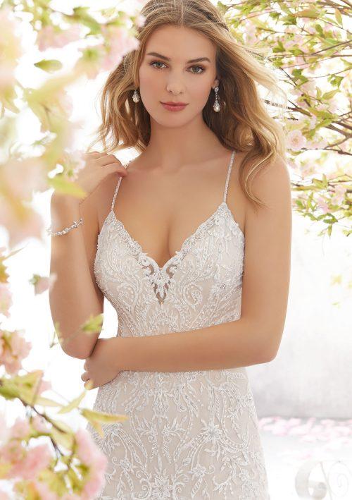Mori lee 6895 Lara Wedding Dress