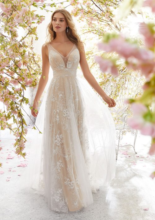 Mori lee 6896 Libby Wedding Dress