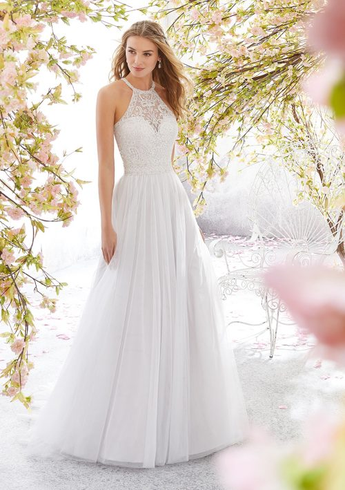 Mori lee 6898 Leilani Wedding Dress