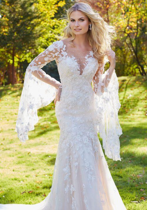 Mori lee 8129 Madonna wedding dress