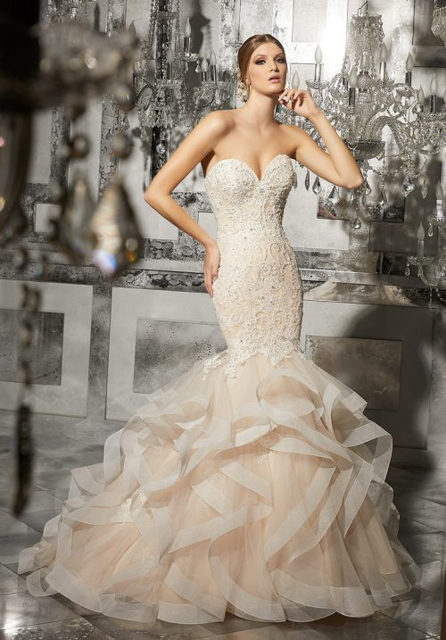 Mori lee 8172 Marguerit wedding dress