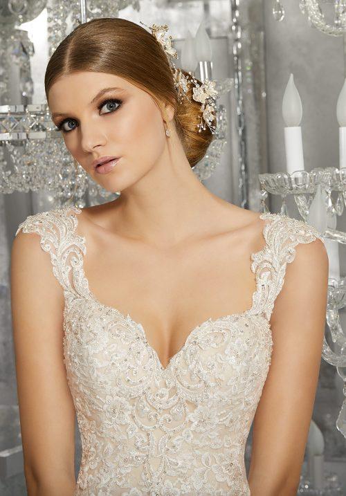 Mori lee 8174 Monique wedding dress