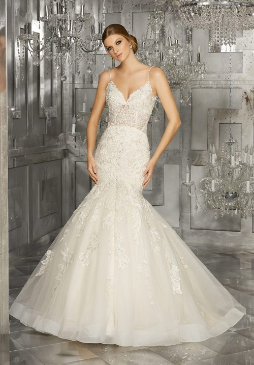 Mori lee 8176 Mihailia wedding dress