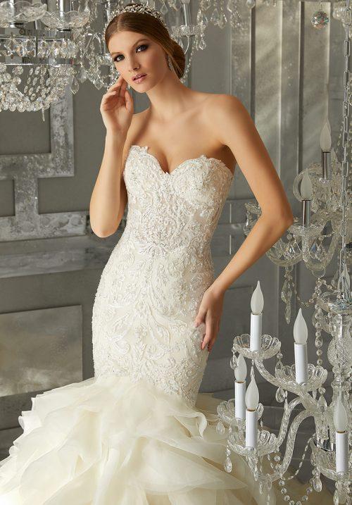 Mori lee 8177 Muse wedding dress