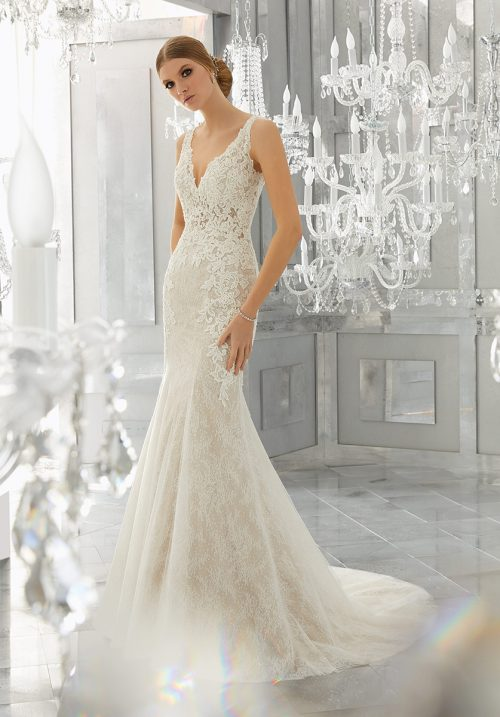 Mori lee 8180 Mysteria wedding dress