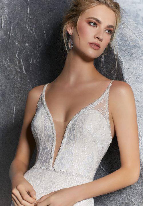 Mori lee 8201 wedding dress