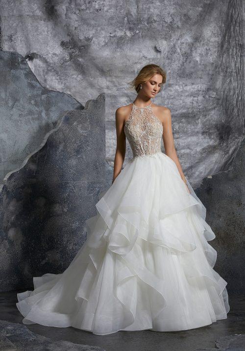 Mori lee 8202 Kali wedding dress