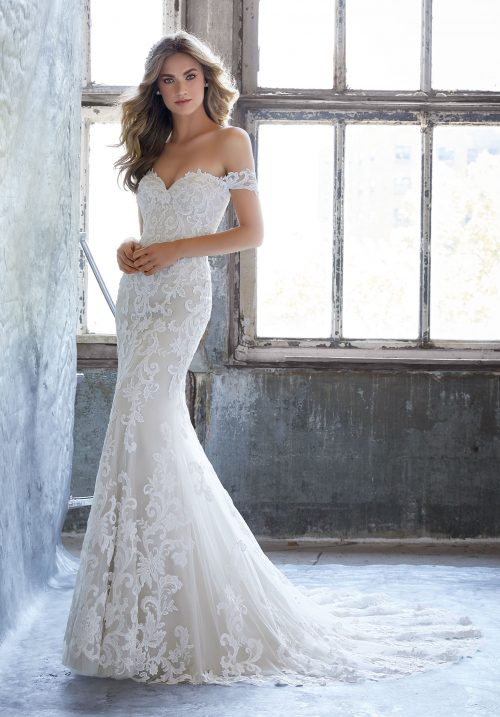 Mori lee 8203 Kassia wedding dress