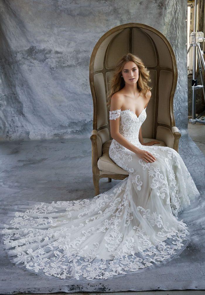 Mori lee 8203 Kassia wedding dress